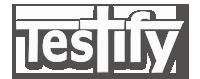 Praiseband Testify logo