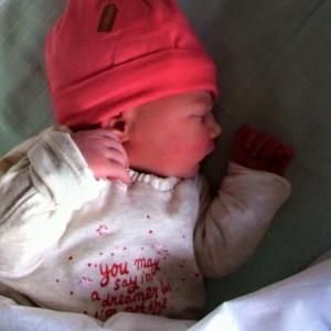 De kleine, lieve Evi :-)